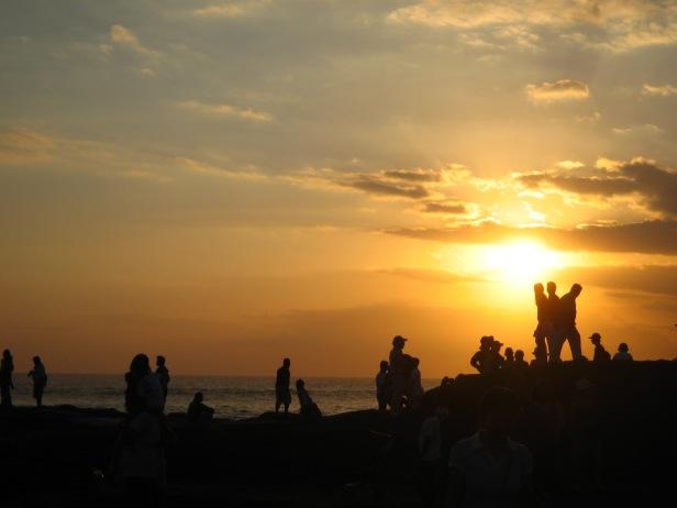 A Bali sunset