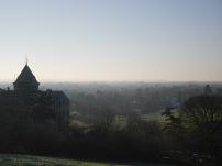 Richmond Park, sunny, sky