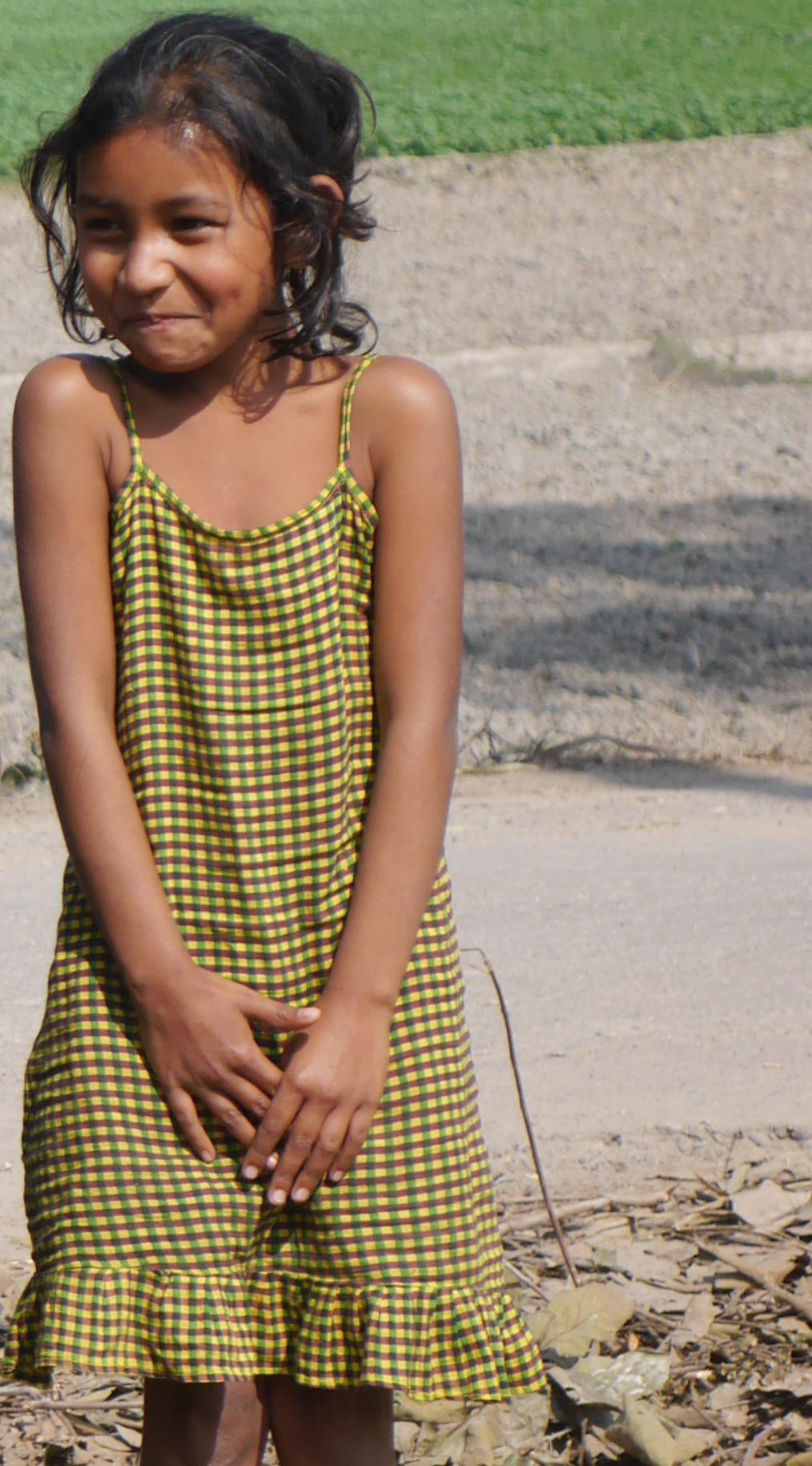Small Girl First impressions of bangladesh  voyages and vinyasas