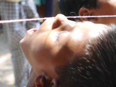 Torturing children